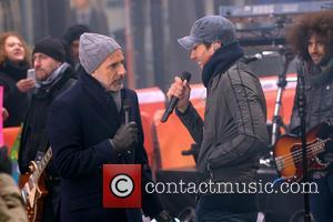 Matt Lauer and Enrique Iglesias