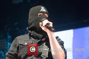 Patrick Stumpz - Fall Out Boy performing live on stage at the Phones 4u Arena as part of their Save...