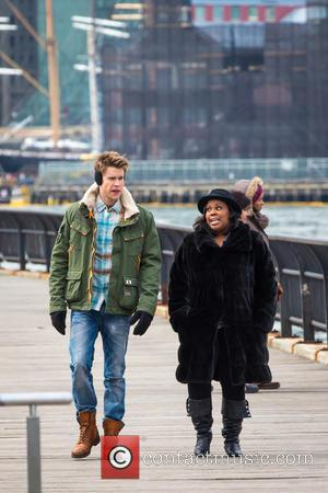 Chrod Overstreet and Amber Riley