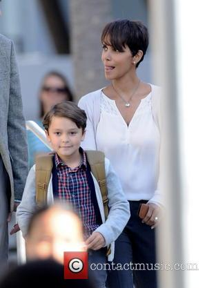 Halle Berry and Pierce Gagnon
