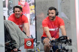 Nick Grimshaw and Ben Foden Danny Care