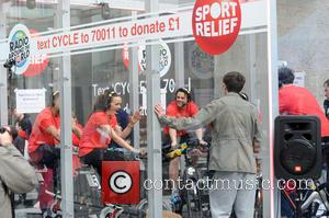 Nick Grimshaw and Sport Relief