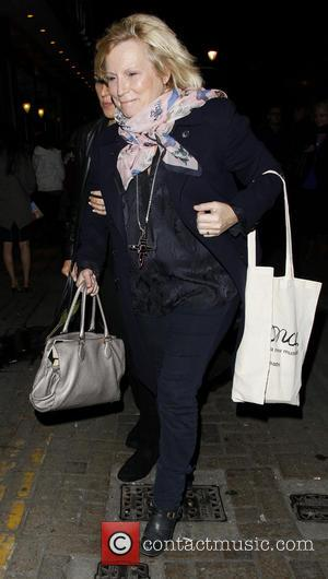 Jennifer Saunders - Once the Musical Gala Charity Night at the Phoenix Theatre - Departures - London, United Kingdom -...