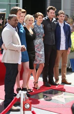 Mekhi Phifer, Veronica Roth, Kate Winslet, Shailene Woodley, Ansel Elgort and Miles Teller