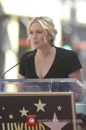 Kate Winslet Presented With Golden Star On Hollywood Walk Of Fame