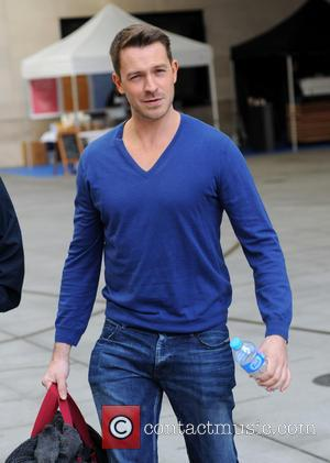 Ashley Taylor Dawson - BBC Radio 1 Sport Relief event outside Broadcasting House - London, United Kingdom - Monday 17th...