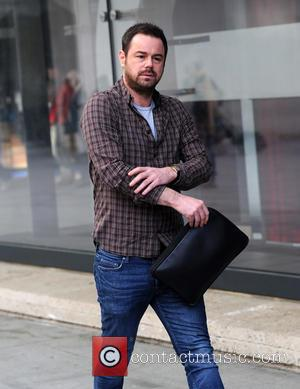 Danny Dyer - BBC Radio 1 Sport Relief event outside Broadcasting House - London, United Kingdom - Monday 17th March...