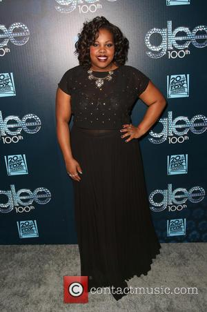 Amber Riley - The 100th episode celebration of GLEE at Chateau Marmont in West Hollywood - West Hollywood, California, United...