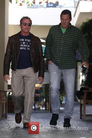 Arnold Schwarzenegger and Ralf Moeller