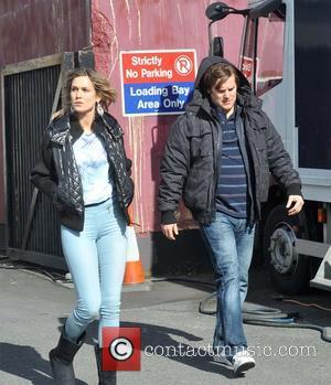 Lynn Rafferty ( Nadine ) and Peter Coonan ( Fran ) - 'Love/Hate' Season 5 film set in Dublin -...