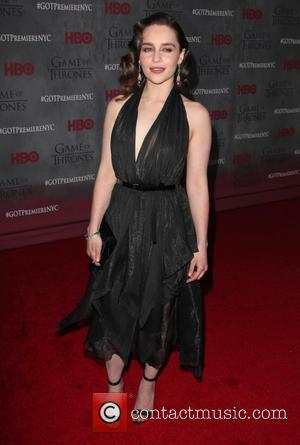 Emilia Clarke - New York Premiere of 'Game of Thrones' Season 4 held at Avery Fisher Lincoln Center - Arrivals...