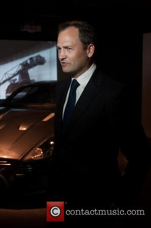 Ben Collins and Stig - Bond in Motion: The largest Official Collection of Original James Bond memorabilia exhibition at the...