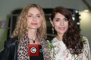 Maryam D'abo and Caterina Murino