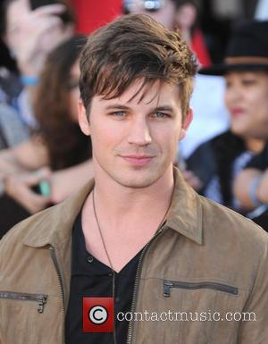 Matt Lanter - Premiere of 'Divergent' held at the Regency Bruin Theatre - Arrivals - West Hollywood, California, United States...