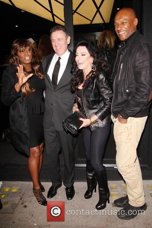 Mica Paris, Nancy Dellolio and Colin Salmon - Jamaica Patty Co restaurant launch in Covent Garden - London, United Kingdom...