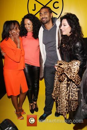 Theresa Roberts, Kanya King, David Haye and Nancy Dellolio - Jamaica Patty Co restaurant launch in Covent Garden - London,...
