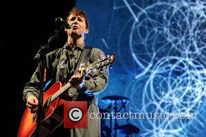James Blunt - James Blunt performs on stage at Mediolanum Forum on March 18, 2014 in Milan, Italy - Milan,...
