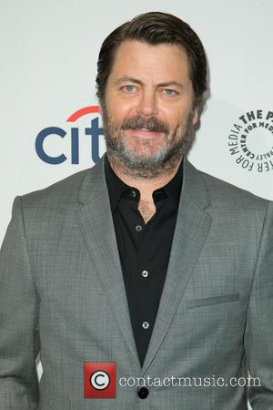 Nick Offerman - Celebrities attend 2014 PaleyFest presentation of 'Parks and Recreation' at The Dolby Theatre. - Los Angeles, California,...