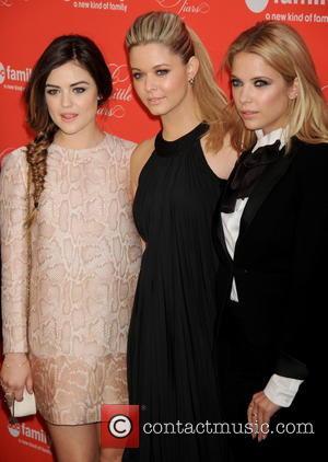 Lucy Hale, Sasha Pieterese and Ashley Benson