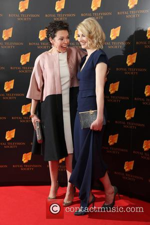 Olivia Colman and Jodie Whittaker - RTS Programme Awards 2014 held at Grosvenor House Hotel - Arrivals - London, United...