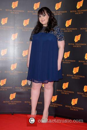 Sharon Rooney - RTS Programme Awards 2014 held at Grosvenor House Hotel - Arrivals - London, United Kingdom - Tuesday...