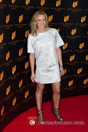 Gabby Logan - RTS Programme Awards 2014 held at Grosvenor House Hotel - Arrivals - London, United Kingdom - Tuesday...