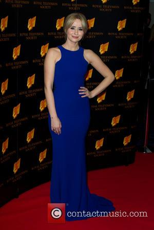 Sammy Winward - RTS Programme Awards 2014 held at Grosvenor House Hotel - Arrivals - London, United Kingdom - Tuesday...