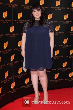 Sharon Rooney - RTS Programme Awards 2014 held at Grosvenor House Hotel - Arrivals - London, England, United Kingdom -...
