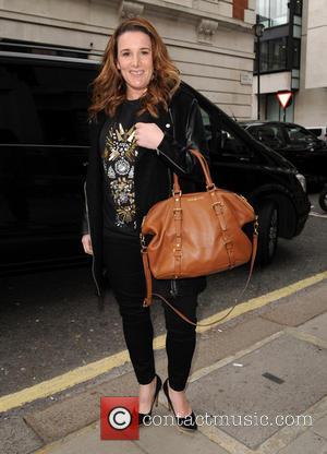 Sam Bailey - A pregnant Sam Bailey visits Radio 2 - London, United Kingdom - Tuesday 18th March 2014