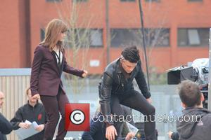 Jenna Louise Coleman Jonathan Bailey - Joining the Timelord and his assistant (Capaldi and Coleman) shooting scenes was guest star...