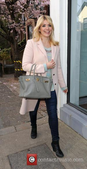 Holly Willoughby - Fearne Cotton and Holly Willoughby arriving at the Riverside Studios - London, United Kingdom - Wednesday 19th...