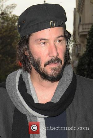 Keanu Reeves - Keanu Reeves outside his hotel - Paris, France - Wednesday 19th March 2014