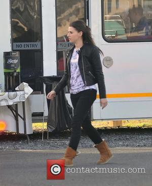 Charlie Murphy ( Siobhan ) - 'Love/Hate' season 5 filming in Ballymun - Dublin, Ireland - Wednesday 19th March 2014