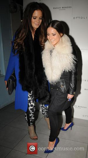 Binky Felstead and Louise Thompson - The Hayley Menzies & Ottoline shop launch party - London, United Kingdom - Wednesday...