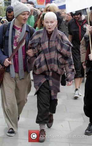 Vivienne Westwood - Vivienne Westwood attends the Fracked Future Carnival organised by campaign group, Frack Off London - London, United...