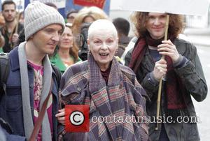 Vivienne Westwood Leads Anti-fracking Protest