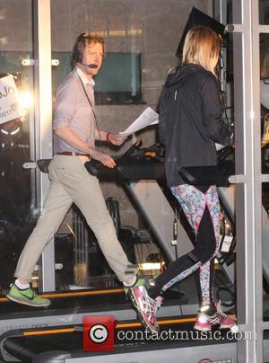 Jo Whiley and Ricky Wilson