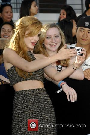 Bella Thorne - Film Premiere of Divergent - Los Angeles, California, United States - Wednesday 19th March 2014