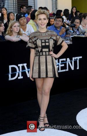 Kiernan Shipka - Film Premiere of Divergent - Los Angeles, California, United States - Wednesday 19th March 2014