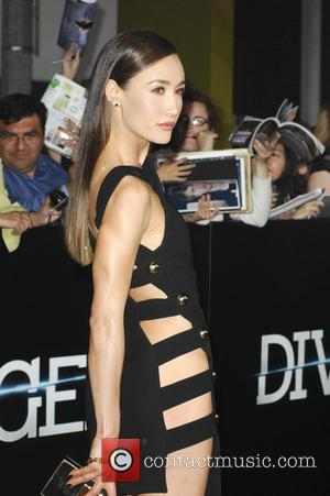 Maggie Q - Film Premiere of Divergent - Los Angeles, California, United States - Wednesday 19th March 2014