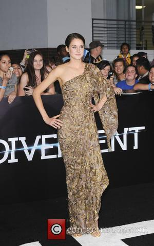 Shailene Woodley - Film Premiere of Divergent - Los Angeles, California, United States - Wednesday 19th March 2014