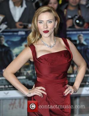 Scarlett Johansson - Captain America The Winter Soldier UK Premiere at Westfield, London at Westfield London - London, United Kingdom...