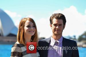 Andrew Garfield and Emma Stone - The Amazing Spiderman 2 Photocall at Sydney Harbour - Sydney, Australia - Thursday 20th...