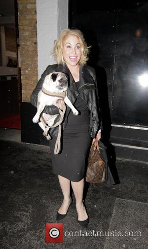 Brix Smith-Start - The Company of Dogs Pet Portrait Exhibition -Outside Arrivals - London, United Kingdom - Thursday 20th March...