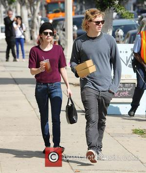 Emma Roberts_Evan Peters - Evan Roberts and Evan Peters do some furniture shopping on Thursday morning - Los Angeles, California,...
