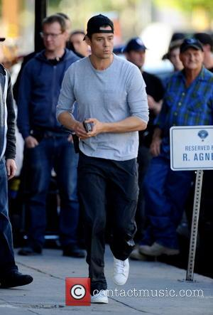 Josh Duhamel - Josh Duhamel is lock and loaded for action as he continues to film his pilot show