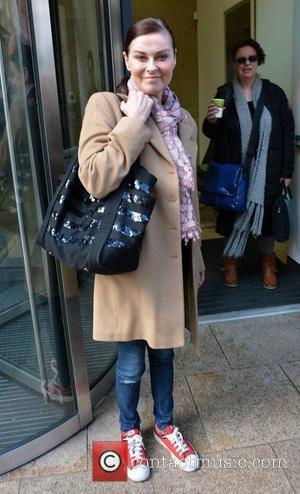 Lisa Stansfield - Singer Lisa Stansfield spotted leaving Newstalk studios... - Dublin, Ireland - Thursday 20th March 2014