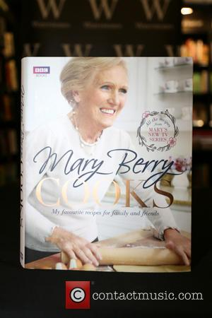 Mary Berry and Book