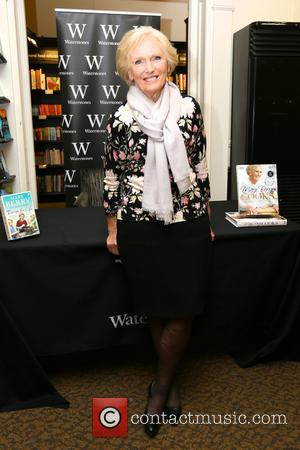 Mary Berry - Mary Berry promotes and signs copies of her latest cook book at Waterstones Reading - London, United...