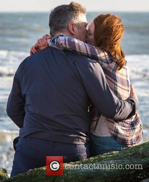 Alec Baldwin and Julianne Moore